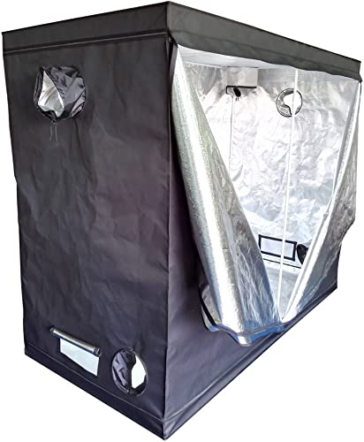 Oshion 96 x 48 x 78 Large Indoor Hydroponics Mylar Grow Tent Room