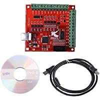 NaiCasy CNC USB MACH3 100Khz Breakout Board 4 Axis Interface Driver Motion Controller