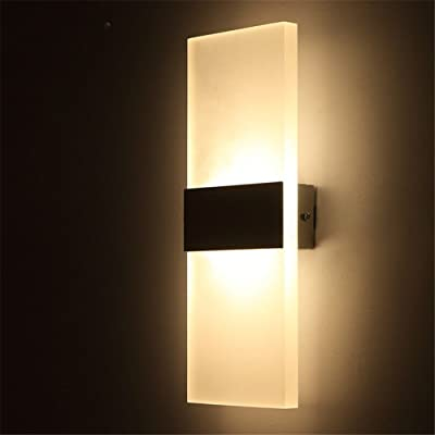 Exceptionnel Avanthika E27 Wall Sconces Mounted Wall Lamps Acrylic Led Wall Lamp Bedroom  Bedside Lamp Sitting In