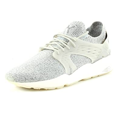 267729ffb4ab Puma Men s Blaze Cage Evoknit Low-Top Sneakers  Amazon.co.uk  Shoes ...