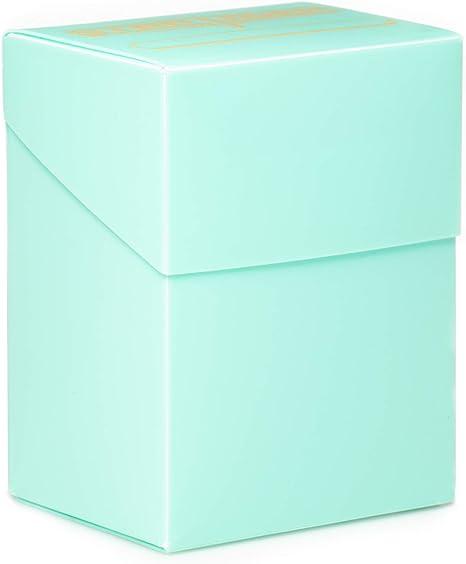 Caja de cartas Stratagem The Big Box con separador, verde menta ...