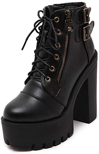 | Summer lavender Russian Shoes Black Platform