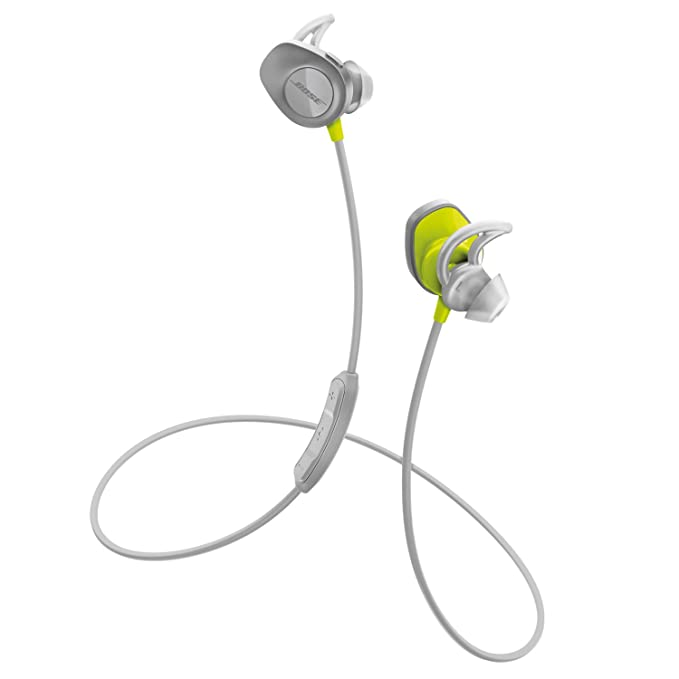 Bose SoundSport - Auriculares inalámbricos (Bluetooth, NFC, micrófono), color citron: Amazon.es: Electrónica