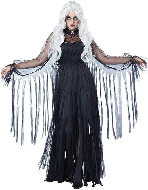 GWNJSSX Disfraz De Murciélago Vampiro De La Viuda Negra El Vestido ...
