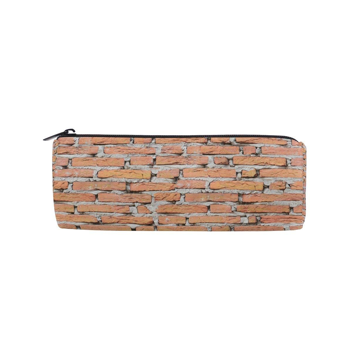 Dragonfly Board Love Round Pencil Case Stationery Bag Zipper Pouch Pencil Holder