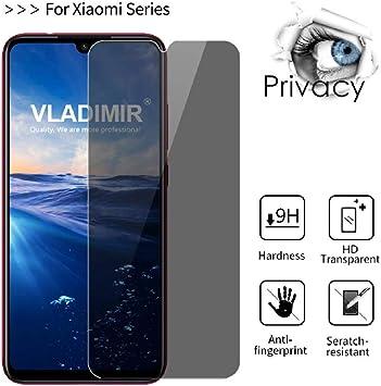 3 Piezas] 2.5D Privacy Anti Spy Glass Templado para Xiaomi Mi A3 ...