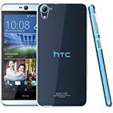 Heartly Imak Crystal Clear Hot Transparent Thin Hard Best Back Case Cover For HTC Desire 826