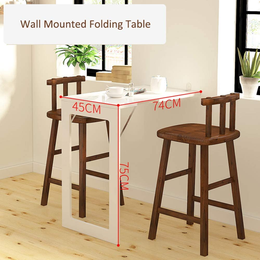 - Wall Mounted Folding Table Design