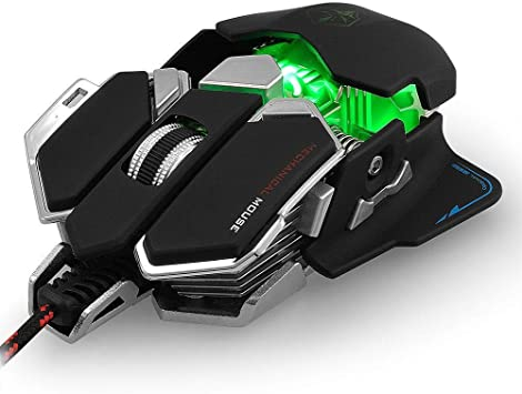 G10 Gaming Mouse USB Wired Luom Professional 4000 DPI Optical 9 Buttons 4000DPI