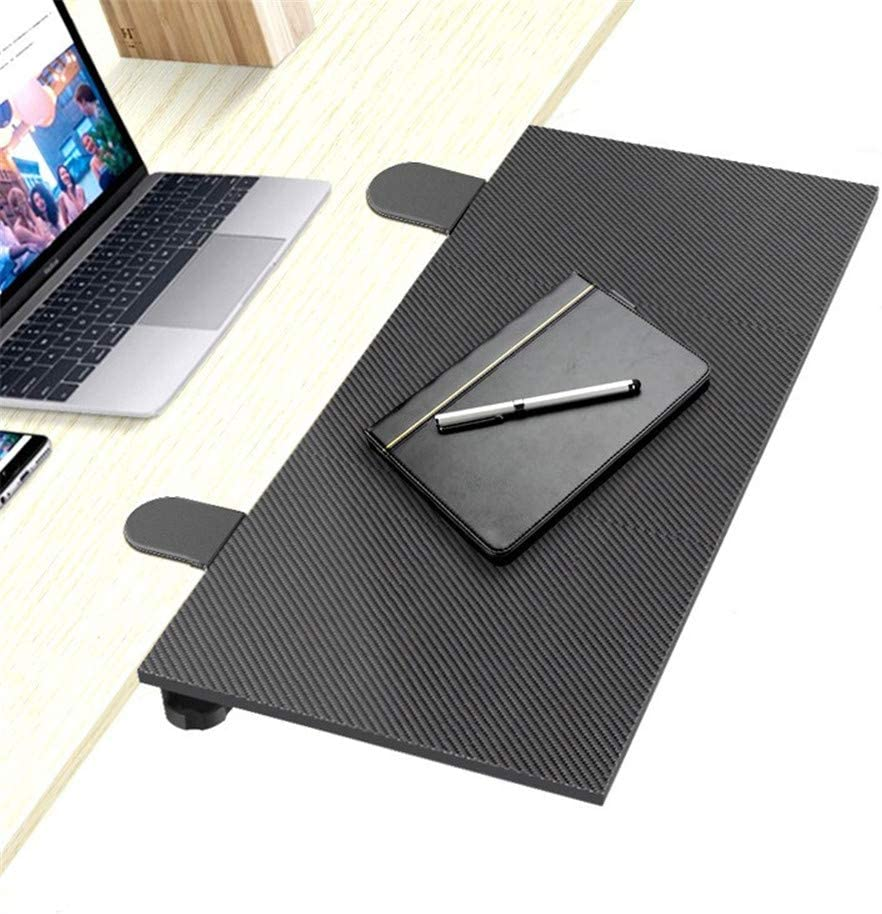 Ergonomic Desk Drawer Computer Keyboard Stand Under Desk Drawer Under Desk Keyboard Tray Desk Extender Office Keyboard Drawer Keyboard Stand for Desk JFGUOYA Folding Keyboard Tray
