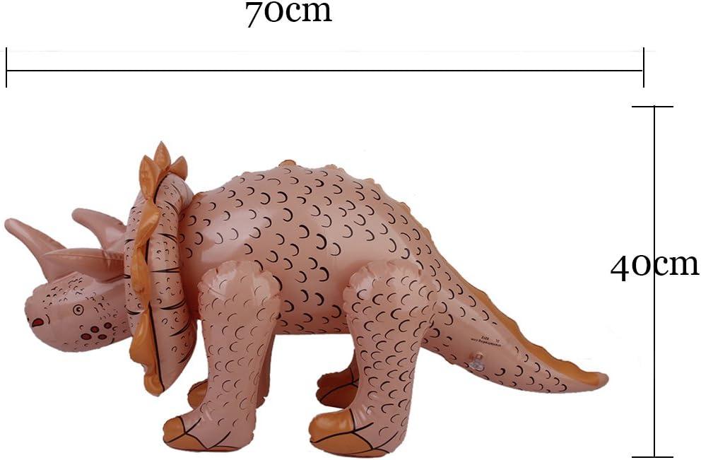 Triceratops Ninos De Dinosaurios De Juguete Playa Piscina Favor De ...