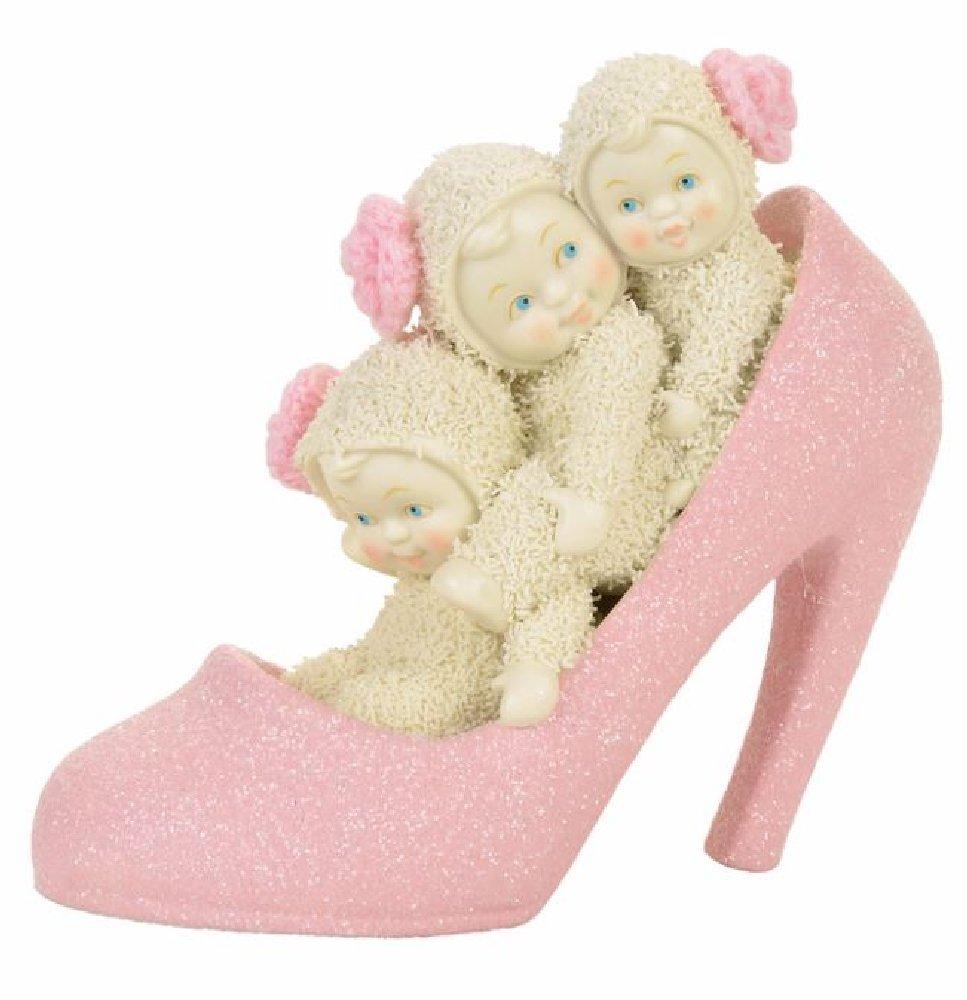 "Department 56 Snowbabies ""If The Shoe Fits"" Porcelain Figurine, 5"""