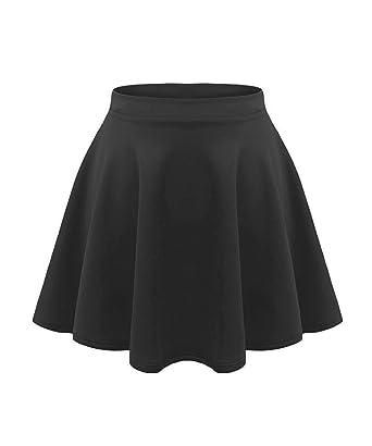 fac465c06e Amazon.com: Kids Girls Skater Skirt: Clothing