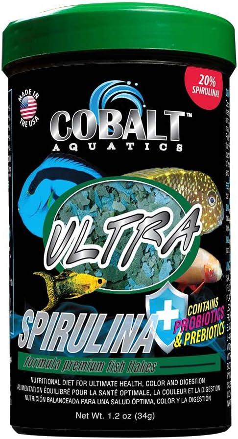 Cobalt Aquatics Ultra Spirulina Flakes 1.2 oz. (23061)