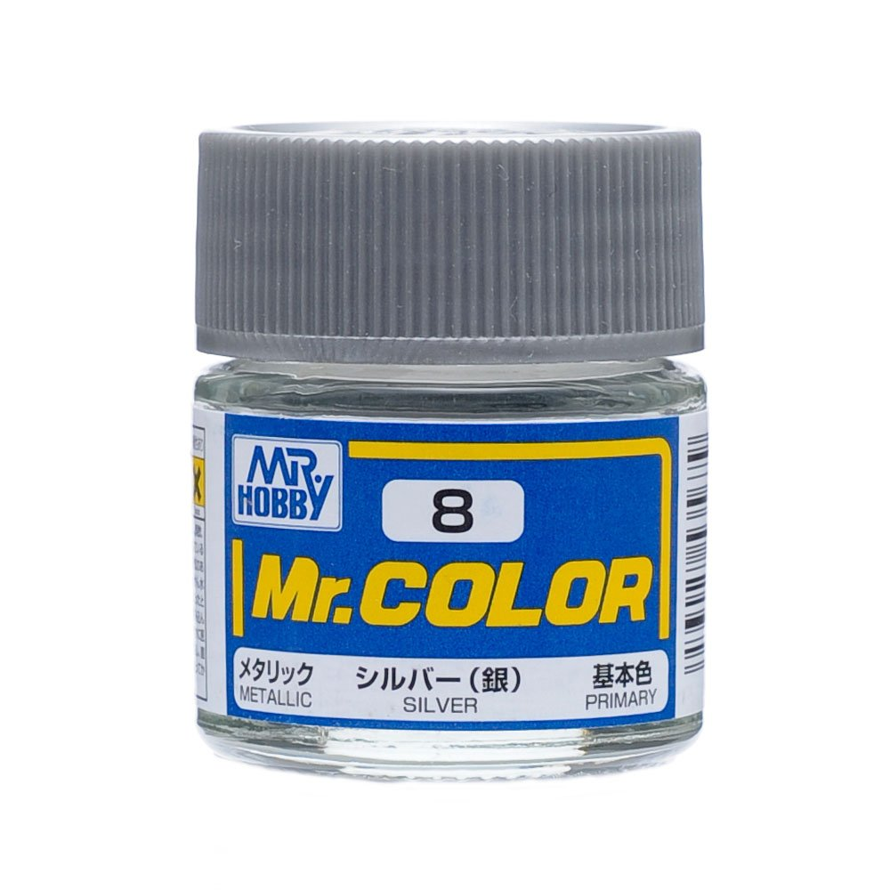 GSI Creos C8 Metallic Silver 10ml, GSI Mr. Color