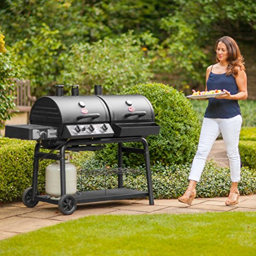 Char Griller 5050 Duo Gas And Charcoal Grill Buy Online