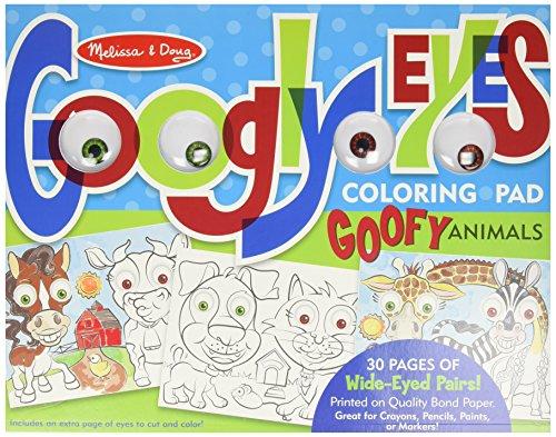 Melissa Doug Wacky Animals Coloring
