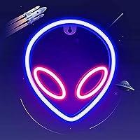 panthem Alien Neon Signs neonverlichting, decoratieve 3D-lamp, neonverlichting, verlichting, nachtverlichting voor kamer…