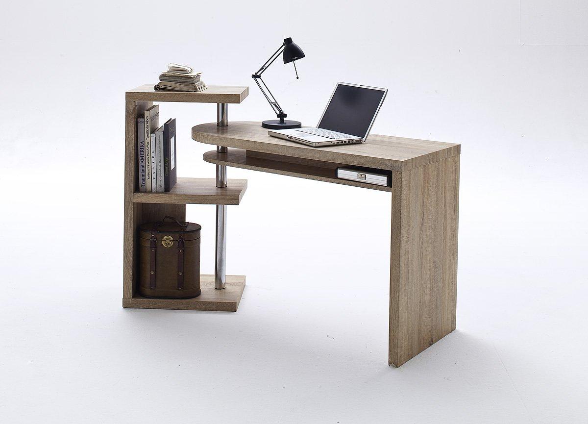MARTINA Escritorio de oficina en casa - Escritorio giratorio ...