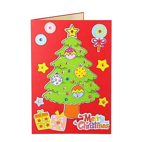 Toyvian Tarjeta de felicitación de Navidad Paquete de ...