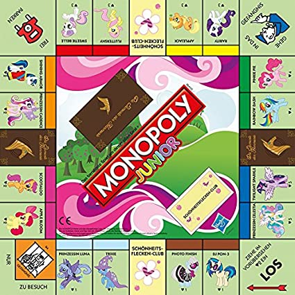 Winning Moves Monopoly Junior My Little Pony [Importación Alemana]: Amazon.es: Juguetes y juegos