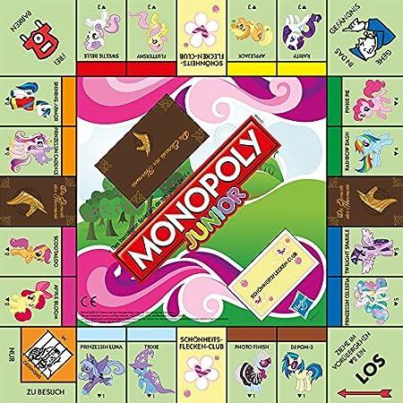 Winning Moves Monopoly Junior My Little Pony [Importación Alemana]: Amazon.es: Juguetes y juegos