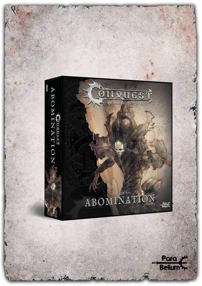 Conquest: The Last Argument of Kings Miniature Spires: Abomination para Bellum