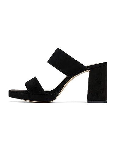f083b6d9b98e Zara Women Leather Platform high Heeled Sandal 1340 001 (35 EU