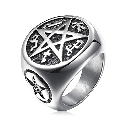 Amazon.com: Steelbsr - Anillo de acero inoxidable para ...
