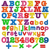 Magnetic Letters and Number ABC Magnets for Kids Gift Set Alphabet Magnets-Educational Refrigerator Magnets-68pcs