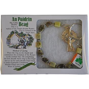 Amazon Com Irish Connemara Marble Single Decade Rosary