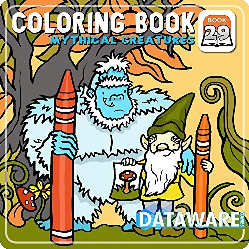Coloring Book 29: Mythical Creatures [Download]