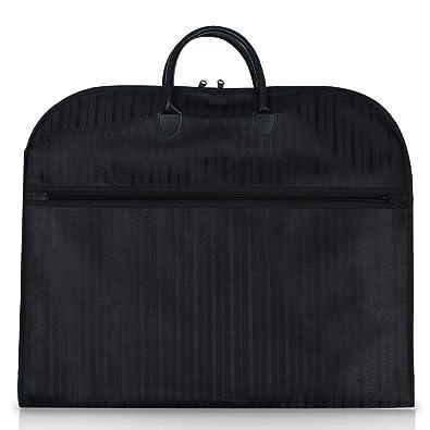 9eb9468628 Amazon | スーツカバー ブラック | LELEKEY | ガーメントバッグ