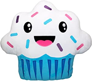 Scentco Smillows - Scented Stuffed Plush Accent Throw Pillow - Cupcake