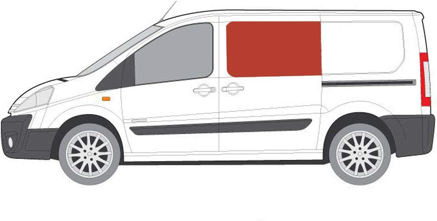 Mano izquierda, tintado oscuro fijo ventana para puerta corredera Peugeot Expert (2007 – 2016): Amazon.es: Coche y moto
