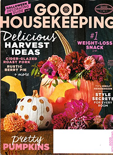 Good Housekeeping October 2015 Delicious Harvest