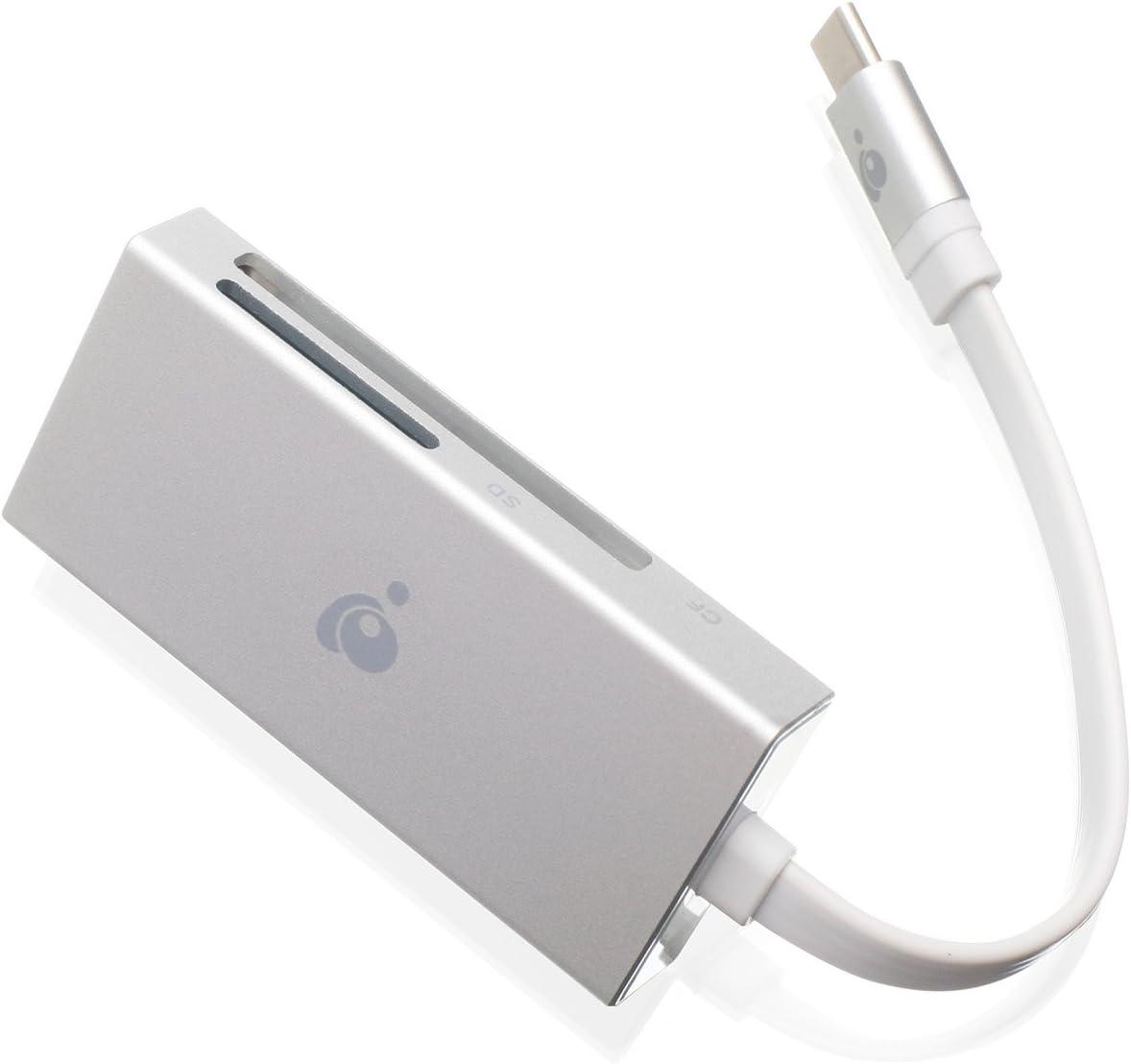 iogear Gfr3C153en 1USB-C Quantum lecteur/graveur de carte SD, CF, microSD, UHS-II