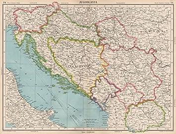 Jugoslawien Karte.Jugoslawien Hier Unabhängige Gratis Hoheitsgebiet Trieste