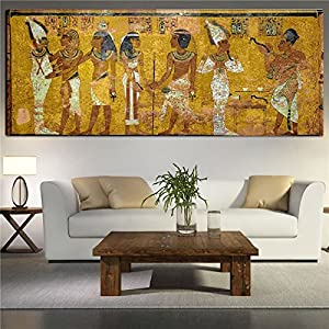 Amazoncom Egyptian Decor Canvas Painting Oil Painting Wall