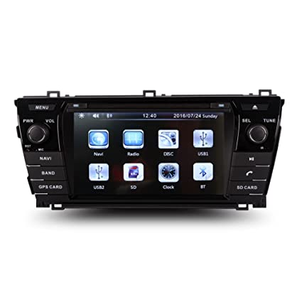 Amazon com: 7 Inch Touch Screen Car GPS Navigation for TOYOTA