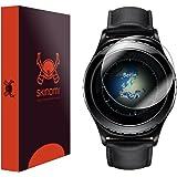Skinomi TechSkin - Schutzfolie für Galaxy Gear S2 Classic (deckt den kompletten Bildschirm), 6er Pack