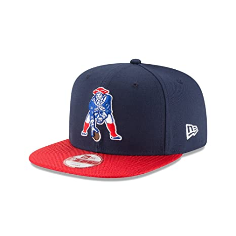 ead9e211 Image Unavailable. Image not available for. Color: New England Patriots New  Era Navy On-Field Sideline Classic 9FIFTY Snapback Adjustable Hat/