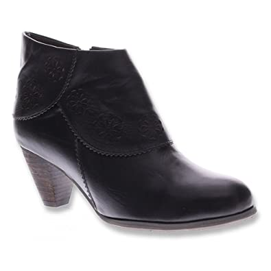 Spring Step Womens Black Boots Linguette