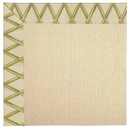 Bamboo Capel (Capel Rugs Zoe-Beach Sisal Rectangle Machine Tufted Area Rug, 24