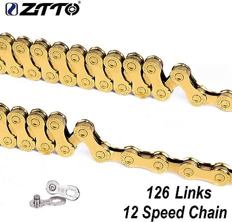 Ocamo ZTTO - Cadena para Bicicleta de montaña de 12 velocidades ...