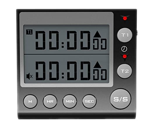 Touch Screen Digital Hygrometer thermometer alarm clock