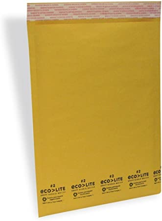 SuperPackage® 5 #2  8.5 X 12  Kraft Bubble Mailers Padded Envelopes 5KB#2