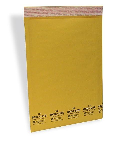 amazon com ecolite 2 8 5x12 kraft bubble mailers padded envelopes