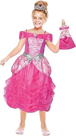 amscan Disfraz Barbie Power Princess: Amazon.es: Juguetes y juegos