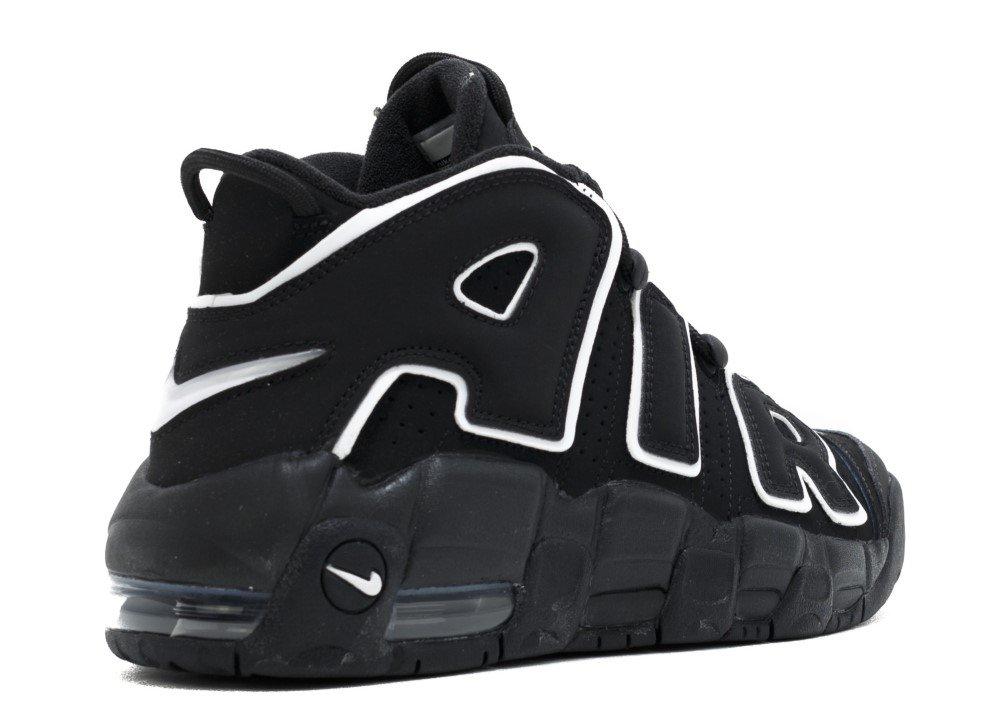 Nike Kids Air Více boty Černá uptempo boty Více Černá bílá a75020f ... 83bd74592e